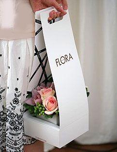 Para una floristería que quiera dar un toque de distinción a sus flores.